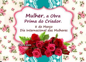 Dia internacional das mulheres celular e whatsapp bgfut