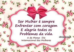 Dia internacional das mulheres celular e whatsapp bnhut