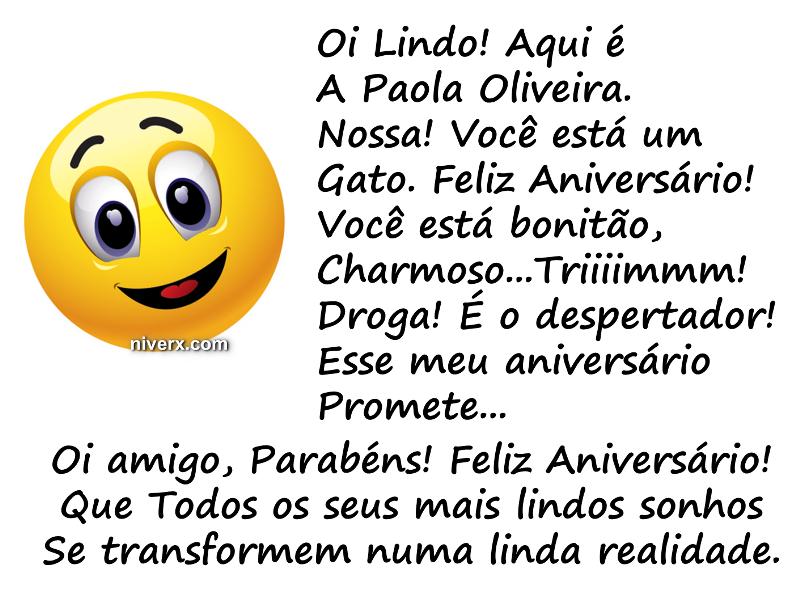 Feliz Aniversário engraçado para amigo - celular e whatsapp bgfvyt