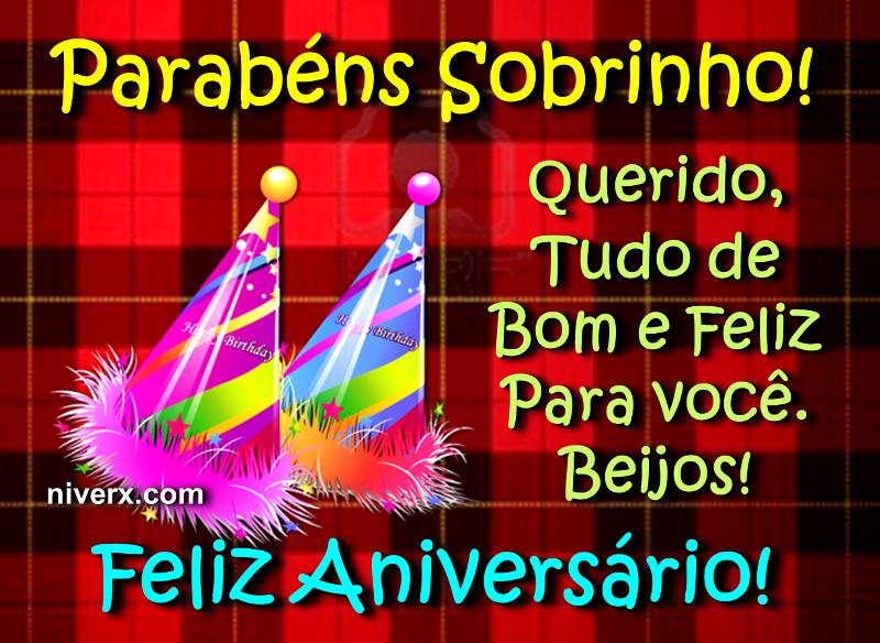 Feliz Aniversario Sobrinho 4 Anos Kx37 Ivango