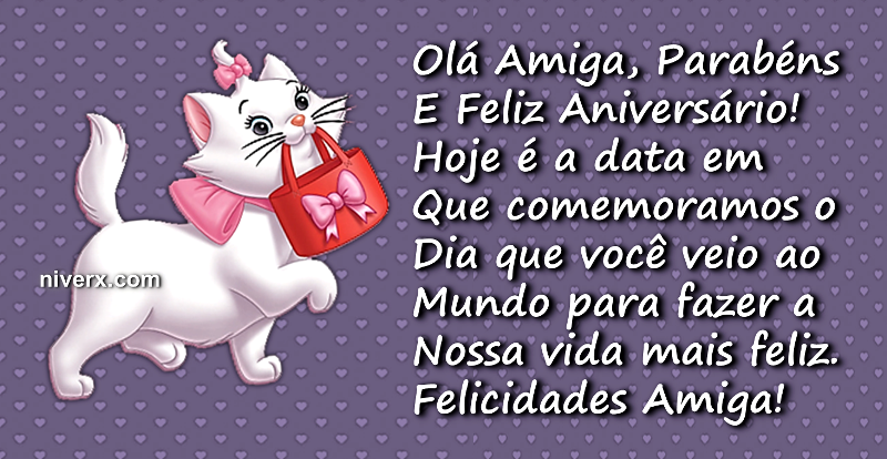 Frases Para Aniversário De Sobrinha Celular Whatsapp: Feliz Aniversário Para Amiga