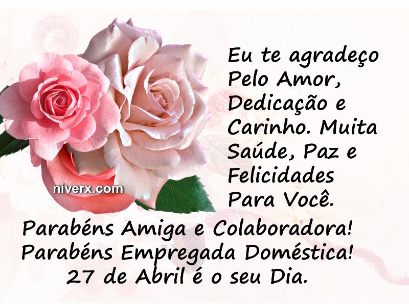 Dia da Empregada Doméstica - Whatsapp e Facebook 2