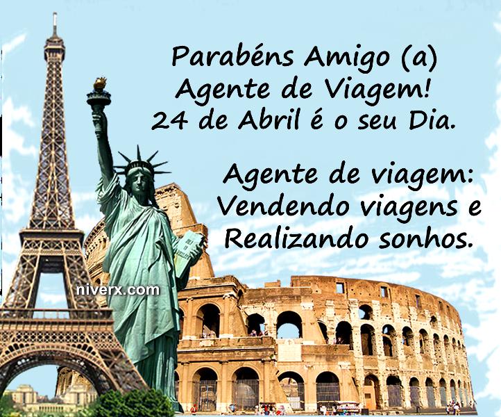 Dia do Agente de viagem - Whatsapp e Facebook