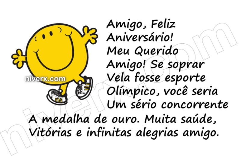 Frases Para Aniversário De Sobrinha Celular Whatsapp: Feliz Aniversário Engraçado Para Amigo