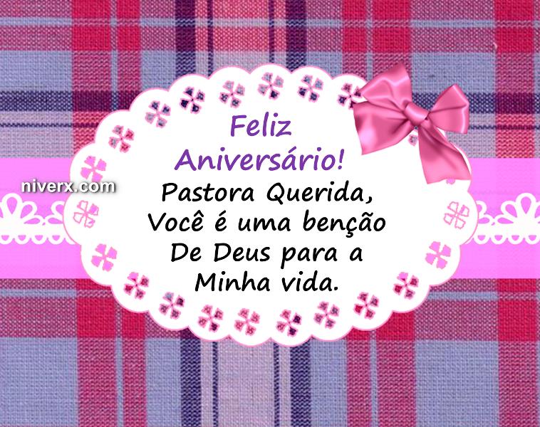 Feliz Aniversário Para Pastora Celular E Whatsapp Mensagens De
