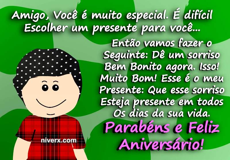 Belas Mensagens De Feliz Aniversario Para Amiga Do Whats E: Feliz Aniversário Engraçado Para Amigo Whatsapp-facebook