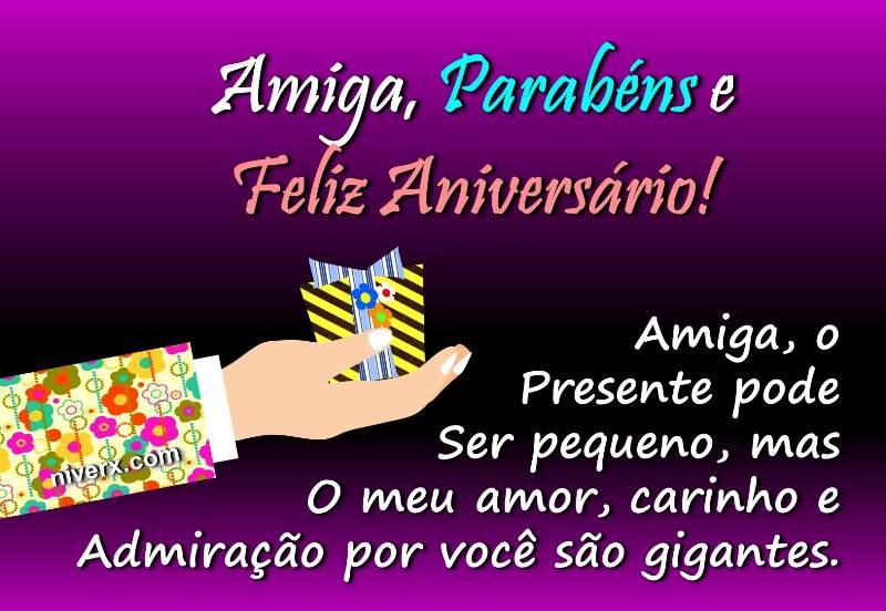 Mensagem De Aniversario Para Amiga Facebook: Mensagem De Aniversário Para Amiga Especial