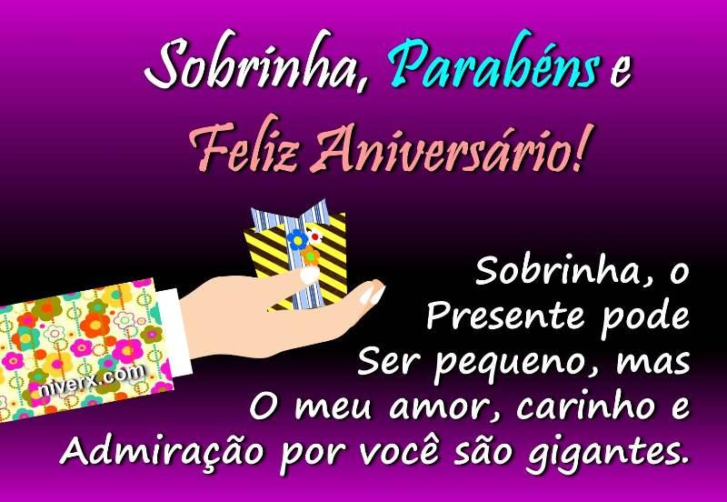 Frases Para Aniversário De Sobrinha Celular Whatsapp: Mensagem De Aniversário Para Sobrinha Whatsapp, Facebook E