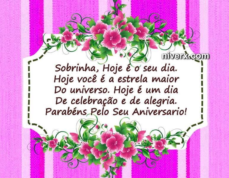 Mensagem De Celular Para Aniversário De Sobrinha Facebook E