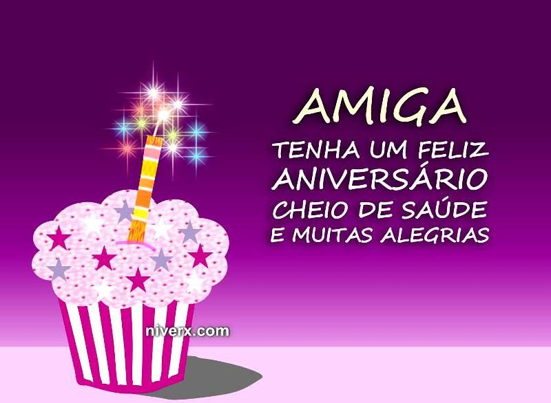 Mensagem De Aniversario Para Amiga Facebook: Mensagem Para Amiga De Aniversário
