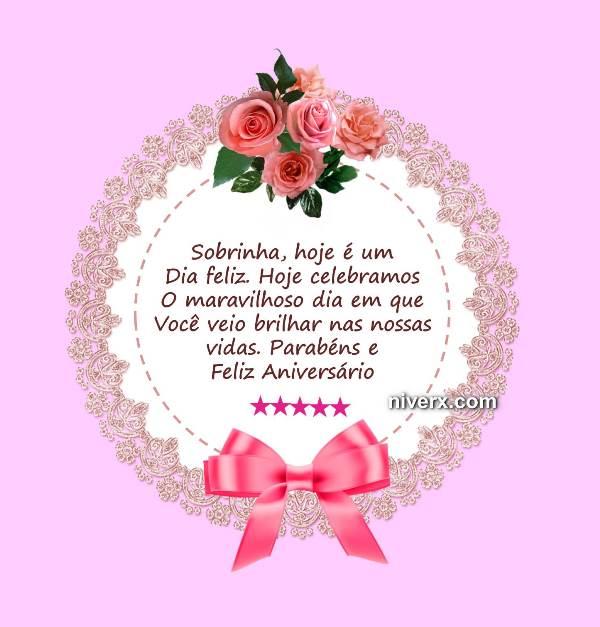 Tag Msg De Feliz Aniversario Para Sobrinha Querida