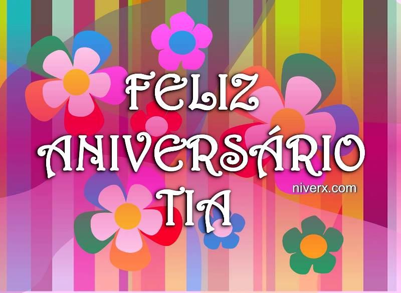 Feliz Aniversário Para Tia: Aniversário Para Tia Querida Celular-whatsapp-facebook