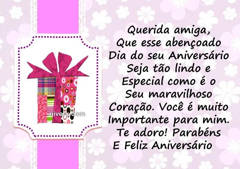 Mensagem De Aniversario Para Amiga Facebook: Frases Para Aniversário De Amiga- Celular-Facebook