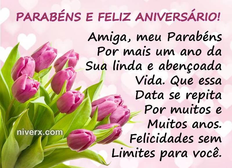 Mensagens De Aniversario Para Amiga: Frases Para Aniversário De Amiga- Celular-Facebook