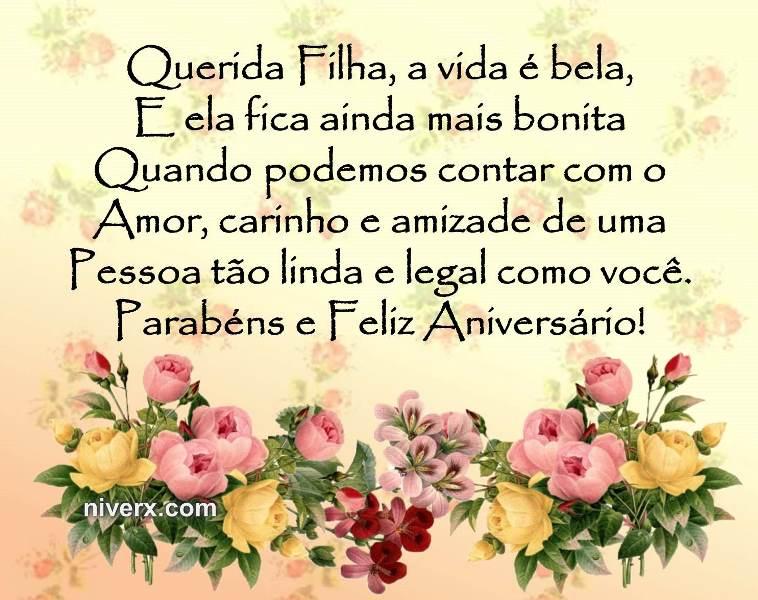 Frases Para Aniversário De Filha Celular Facebook Whatsapp Figura 2