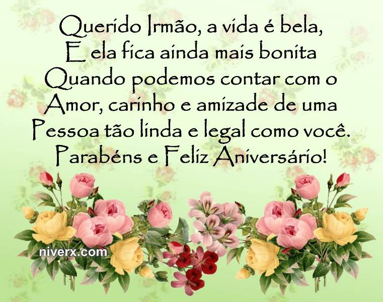 Frases Para Aniversário De Irmão- Celular-Facebook