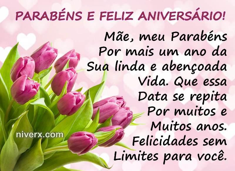 Frases Para Aniversário De Mãe- Celular-Facebook-Whatsapp