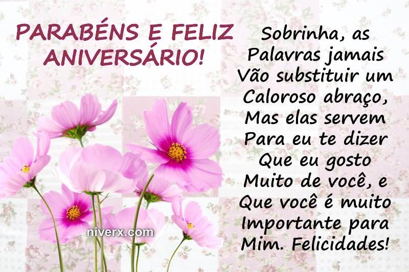 Frases Curtas De Aniversario Para Tia: Frases Para Aniversário De Sobrinha- Celular-Facebook