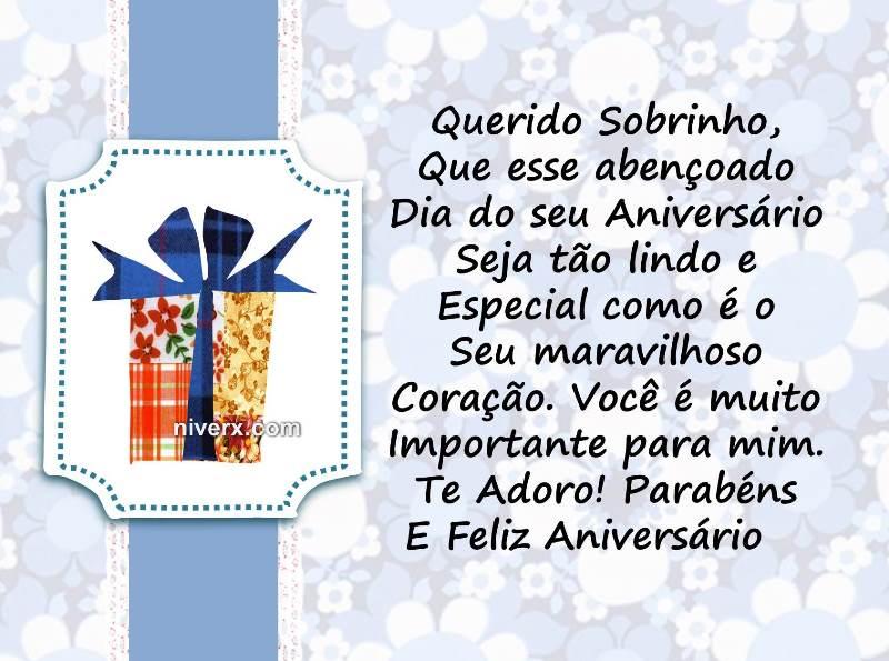 Frases Para Aniversário De Sobrinho Celular Facebook Whatsapp