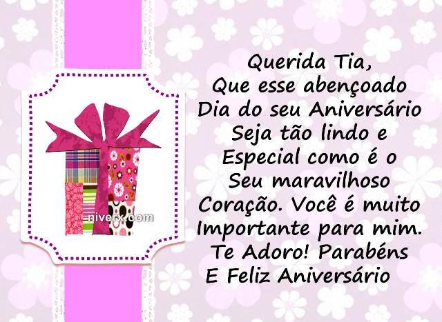 Mensagem De Celular Para Aniversário De Tia: Frases Para Aniversário De Tia- Celular-Facebook-Whatsapp