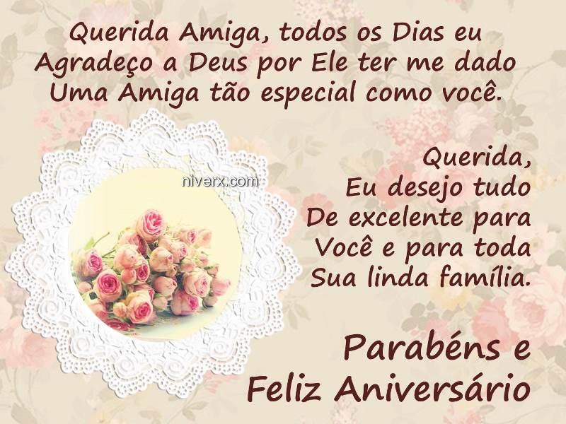 Mensagem De Aniversario Para Amiga Facebook: Mensagem De Aniversário Para Amiga Evangélica
