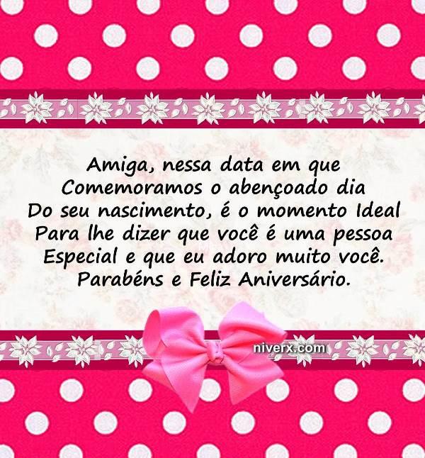 Mensagem De Aniversário Para Amiga Irmã Whatsapp Facebook Imagem 3