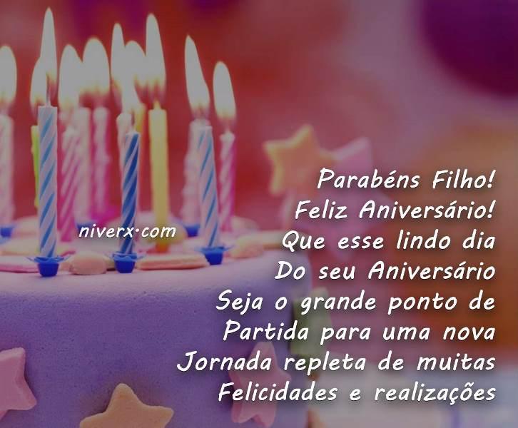 Mensagem De Aniversario De Um Ano Para Filho: Feliz Aniversário Filho – Imagem 1