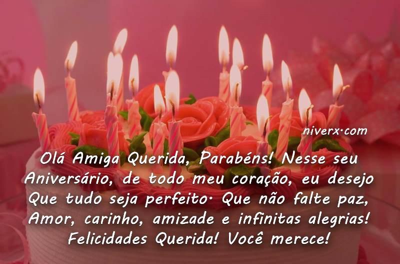 Mensagem De Aniversario Para Amigo Especial: Feliz Aniversário Para Amiga Especial